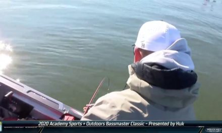 Bassmaster – Yamaha Clip of the Day (Cherry maintains Classic lead)