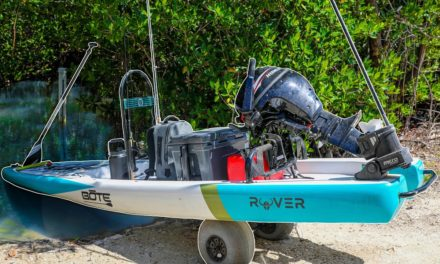 Lawson Lindsey – Catching Giant Fish from Micro Skiff In Secret Saltwater Lagoon