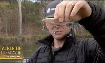 Bassmaster – Micah Frazier's three lure recommendations for pond fishing
