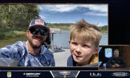Bassmaster – On the Lake conversation with Bassmaster pro Drew Benton