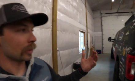 Bassmaster – Palaniuk building during his downtime