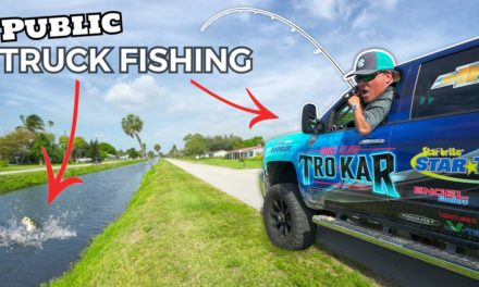 Scott Martin Pro Tips – Truck Fishing for GIANT FISH! Public Waters