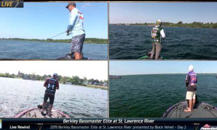 Bassmaster – Bassmaster Elite LIVE Rewind – 2019 St. Lawrence River – Day 2 action