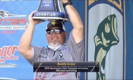 Bassmaster – Champions Chat: Lake Eufaula Bassmaster winner Buddy Gross
