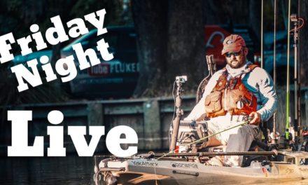 FlukeMaster – Friday Night Live Christmas Edition – Bass Fishing