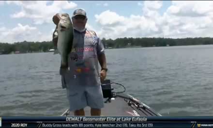 Bassmaster – Here comes Buddy Gross on Day 4 at Eufaula