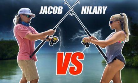 Scott Martin Pro Tips – Hilary vs. Jacob – HUGE THUNDERSTORM is COMING FAST!