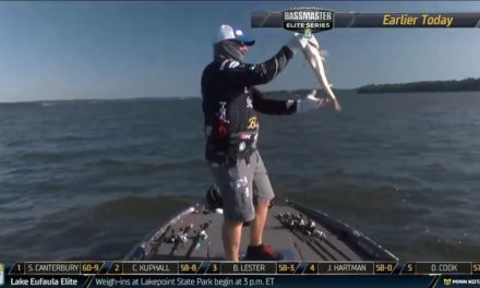 Bassmaster – Yamaha Clip of the Day – Canterbury's charge to the top