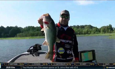 Bassmaster – Caleb Kuphall staying tough up shallow