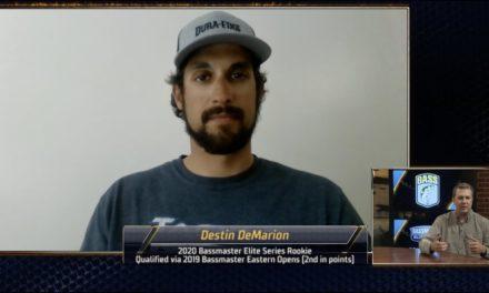 Bassmaster – Destin DeMarion's diverse path to the Bassmaster Elite Series