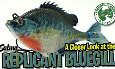 A Closer Look at the NEW SALMO REPLICANT BLUEGILL SWIMBAIT