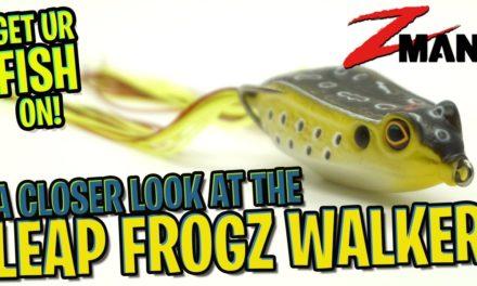 Best Hollow Body Frog for Bass Fishing – 2020? Zman Fishing Leap FrogZ