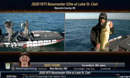 Bassmaster – Feider gaining momentum on St. Clair