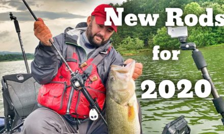 FlukeMaster – Introduction to the new 13 Fishing Rods for 2020