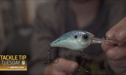 Bassmaster – Why Austin Felix adds an extra split ring to trebled baits