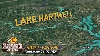 Bassmaster – Basspro.com Bassmaster Eastern Open at Lake Hartwell kicks off this week