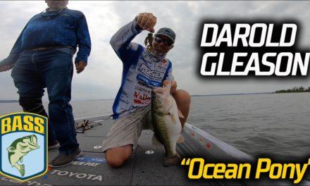 Bassmaster – Darold Gleason's Day 2 Ocean Pony at Sam Rayburn