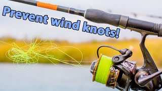 Salt Strong | – How To Prevent Wind Knots (When Using Braided Line)
