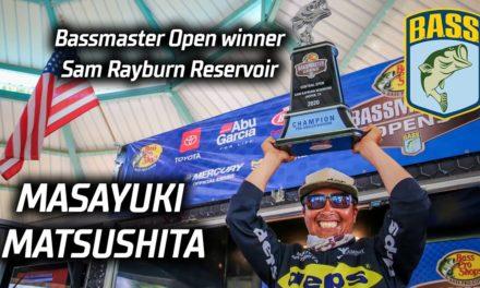 Bassmaster – Masayuki Matsushita wins Bassmaster Central Open on Sam Rayburn