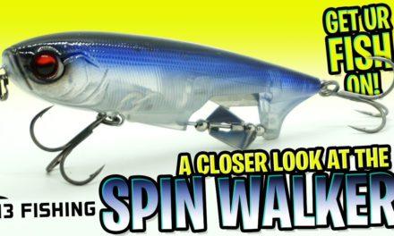 New Bass Fishing Tackle Bait 2020- 13 Fishing Spin Walker Prop Pencil