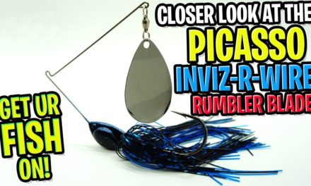 PICASSO Spinnerbaits INVIZ-R-WIRE! Best Spinnerbait for Bass Fishing?