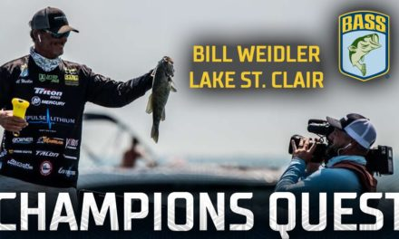Bassmaster – Quest for the Title: Bill Weidler's Final Day at St. Clair (Bassmaster Elite Series Victory)