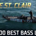 Bassmaster – TOP 100 BEST BASS LAKES – Seth Feider at Lake St. Clair