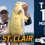 Bassmaster – Top 10 Moments at Lake St. Clair (Bassmaster Elite Series Event)