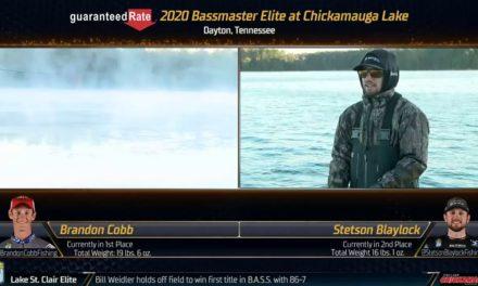 Bassmaster – 2020 Bassmaster Elite Series – Pre Show – Chickamauga Lake, TN – Day 2