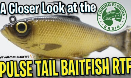 A Closer Look at the NEW Savage Gear Pulse Tail Baitfish RTF -Largemouth Bass Fishing Swim Bait Lure