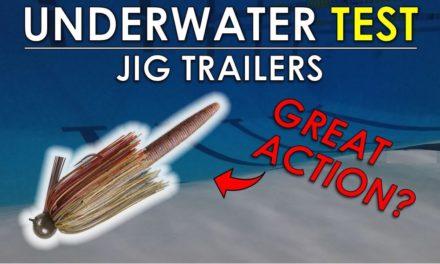 Best Jig Trailers | Underwater Bass Fishing Lure Test