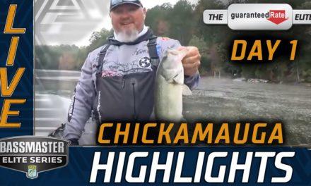Bassmaster – Day 1 Highlights (2020 Bassmaster Elite at Chickamauga Lake)