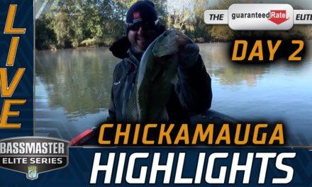 Bassmaster – Day 2 Highlights (2020 Bassmaster Elite at Chickamauga)