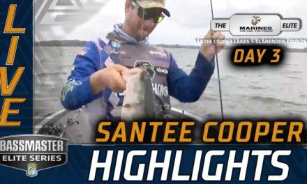 Bassmaster – Day 3 Highlights (2020 Bassmaster Elite at Santee Cooper)