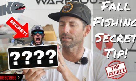 Mike Iaconelli Secret Tips & Tactics – Fall Fishing Secret Tip!!