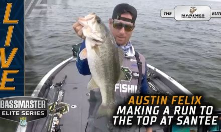 Bassmaster – Fishing offshore at Santee Cooper? Austin Felix says yes!