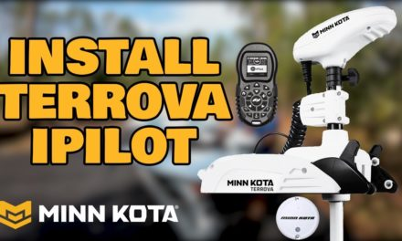 How To Install Minn Kota Terrova i-Pilot Trolling Motor