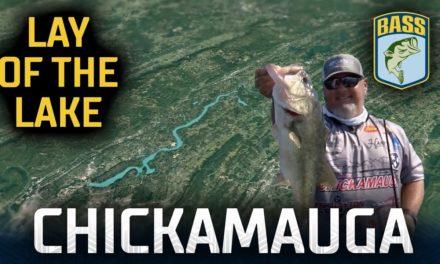 Bassmaster – Lay of the Lake – Breaking down Chickamauga areas (Bassmaster Elite Series)