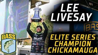 Bassmaster – Lee Livesay wins 2020 Bassmaster Elite at Chickamauga