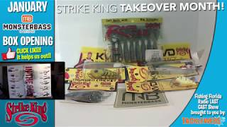 Monsterbass January 2020 Unboxing – Stirke King Take Over Month
