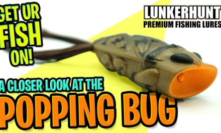 NEW LUNKERHUNT POPPING BUG – New Topwater Bass Fishing Lures 2020