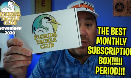 BEST MONTHLY SUBSCRIPTION TACKLE BOX! Florida Tackle Club Nov. 2020