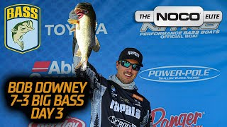 Bassmaster – Bob Downey's 7 pounder on Lake Guntersville (Day 3 Big Bass)