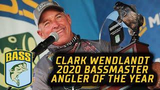Bassmaster – Clark Wendlandt wins the 2020 Bassmaster Angler of the Year title