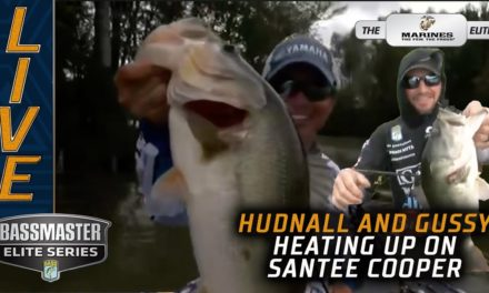 Bassmaster – Hudnall and Gussy heating up on Santee Cooper