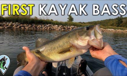 My Kayak Bass Fishing Journey Begins! | Offshore Fishing in a Kayak