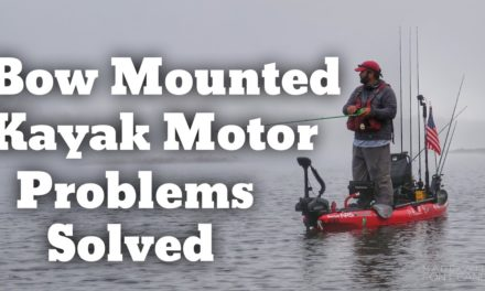 FlukeMaster – Solving the Stow and Deploy Challenge with a Bow Mounted Kayak Motor
