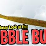 The 13 Fishing Bubble Butt Worm – Soft Plastic Bass Fishing Worm