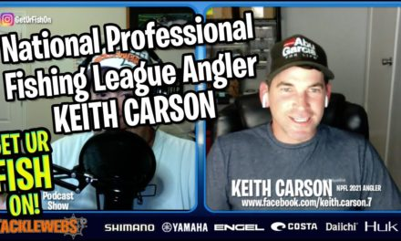 The National Professional Fishing League Angler KEITH CARSON