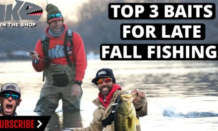 Mike Iaconelli Secret Tips & Tactics – Top 3 Baits for Late Fall Fishing!